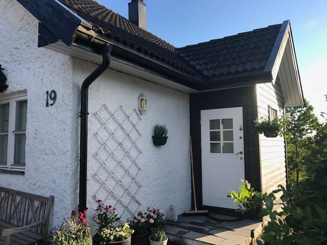 Greta's rose-house in beautiful Drøbak