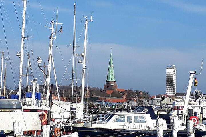 Finnenhäuschen direkt am Wasser (Travemünde) FH3