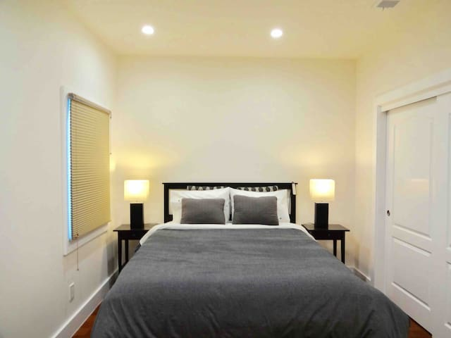 Luxurious renovated master bedroom E