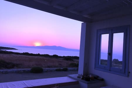 Gorgeous Sunset Villa at the best location! - Naxos - Villa