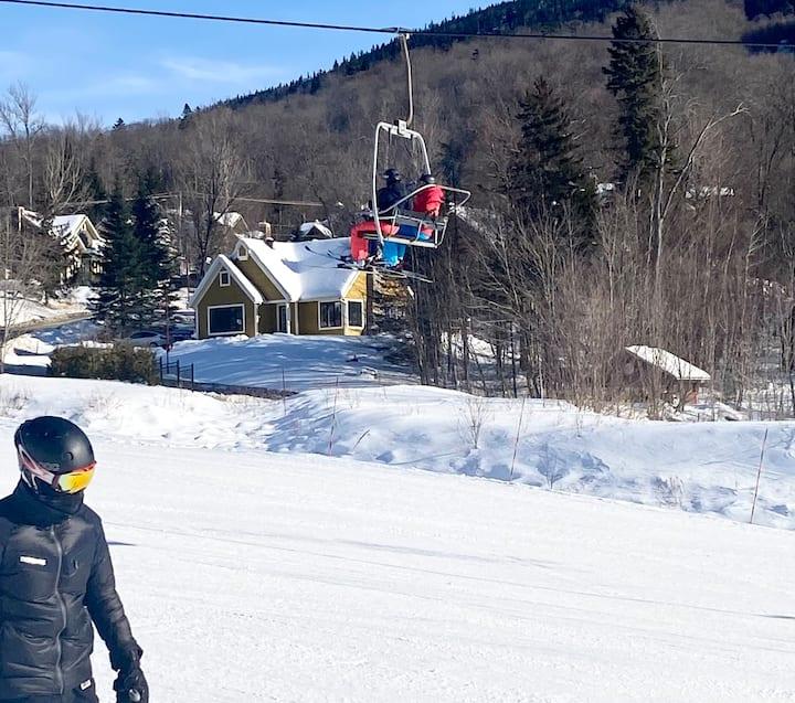 Un vrai Ski-in Ski-out, SPA, BBQ, chien bienvenue
