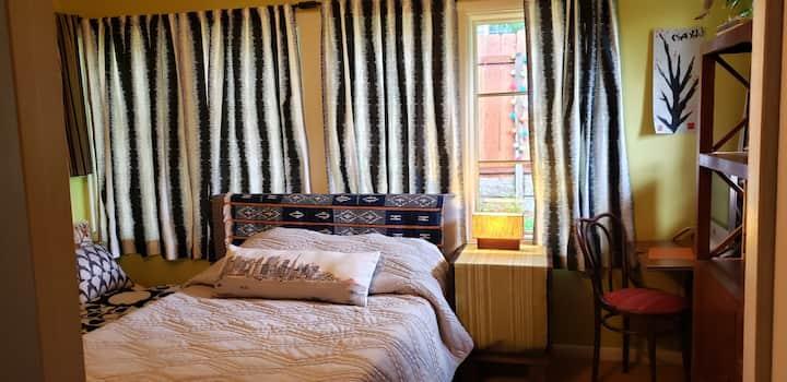 An ARTsy, Cozy, Colorful Room