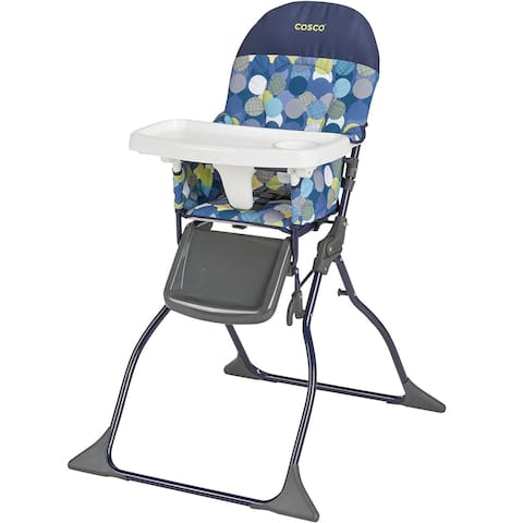 A high chair is provided for your convenience.