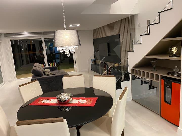 Casa top Condomínio One Houses Atlântida 3 quartos