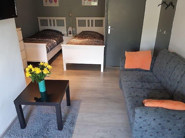 Mooie studio met keukentje in Westmaas