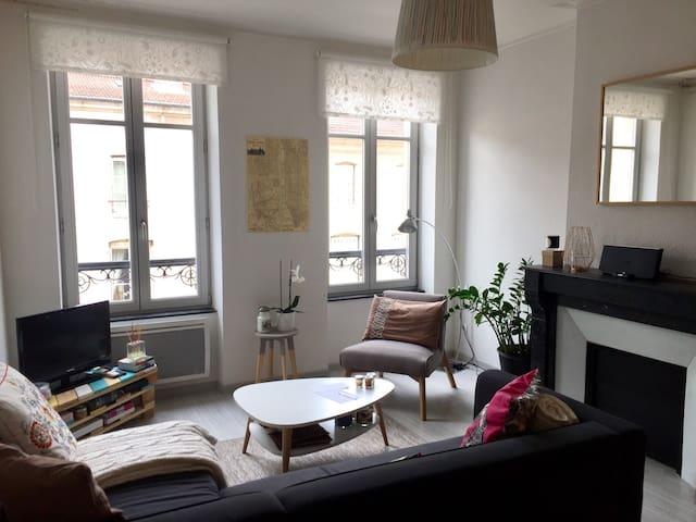 Duplex à 1min de la place Stanislas - Nancy - Apartamento