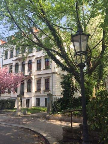 Klassizistische Villa am Elbufer