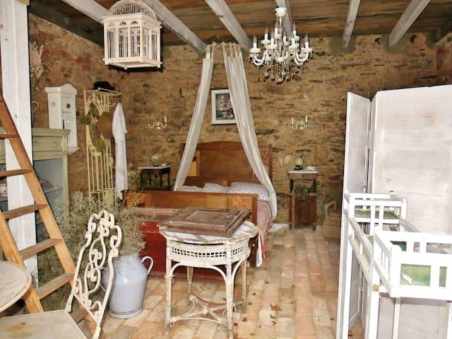 Einfaches und Rustikales Häuschen/ 1 Schlafzimmer - Endschütz