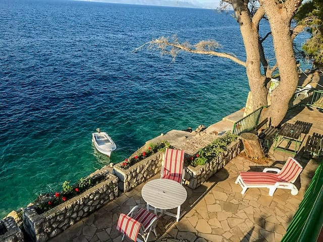 Apartment Trapanezi 1 - Private Beach Paradise