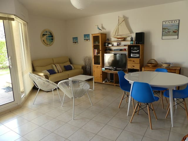 Appartement (Type 3) à 100m de la Plage
