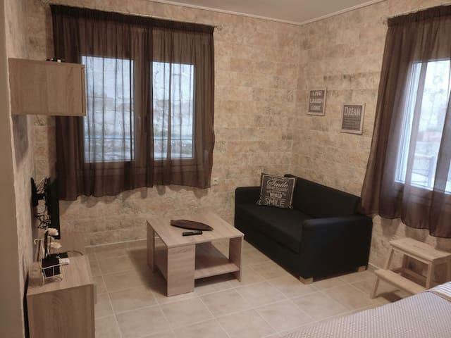 Διαμέρισμα στο κέντρο δίπλα στην παραλία , WiFi ! - Volos - Byt