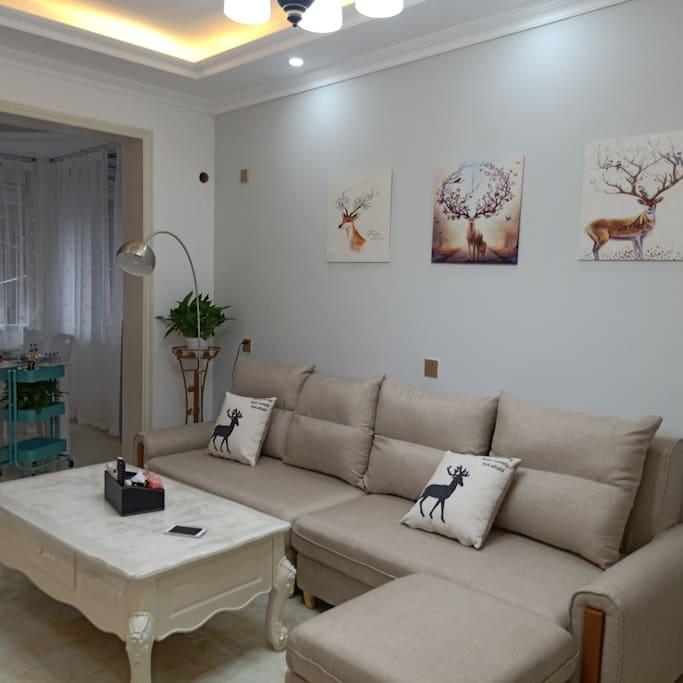 超大客厅(large living room )