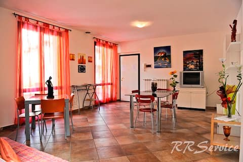 Appartamento spazioso...come a casa vostra...