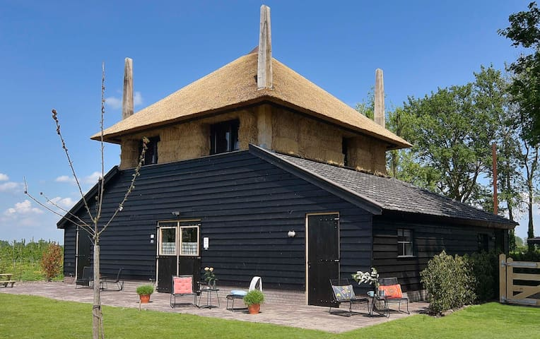 Typical Dutch accommodation: a haystack! - Zoelen - House