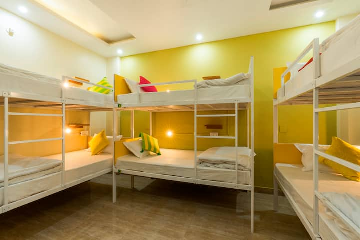 A Bed in a STD 6-Bed Mixed Dorm - Rishikesh 2.0