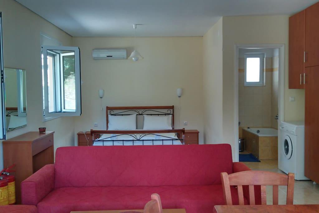 Εσωτερικός χώρος - Διπλό κρεβάτι