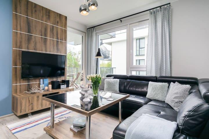 Elite Apartments Tre Mare Grande    100 metrów od morza & balkon   PRZY PLAŻY