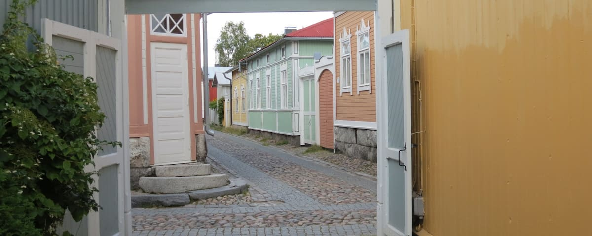 Old Rauma, in Central of Old Rauma - Rauma - Talo