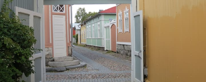 Old Rauma, in Central of Old Rauma