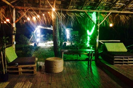Samana EcoLodge & hostel close to waterfall&beach - Samana & las terrenas  - Nature lodge