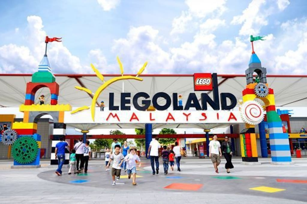 Legoland Landmark just 5-7 mins drive