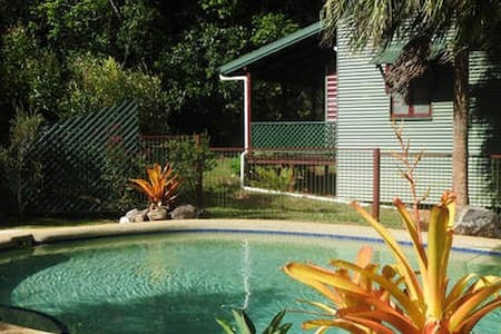 Malanda Rainforest cottage with a view