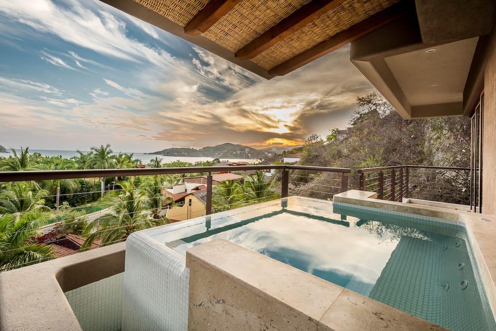Private Dip Pool