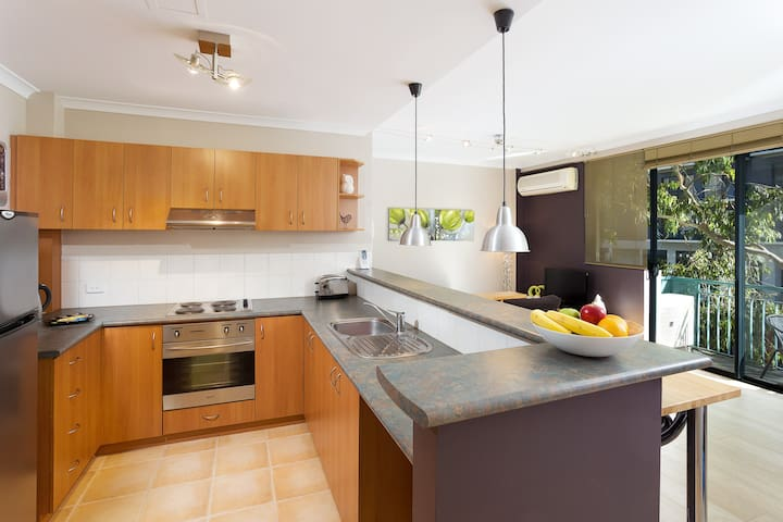 Great sized kitchen. Fully equipped.