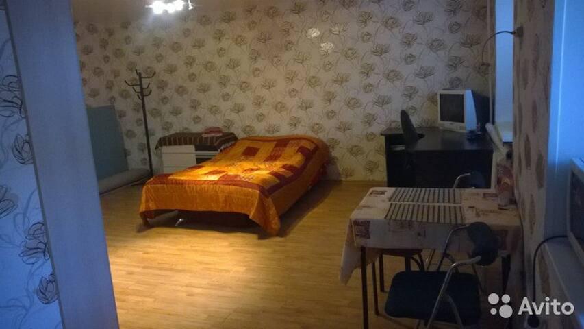Уютная студия в деловом центре г. П-К - Petropavlovsk-Kamchatskiy - Apartamento