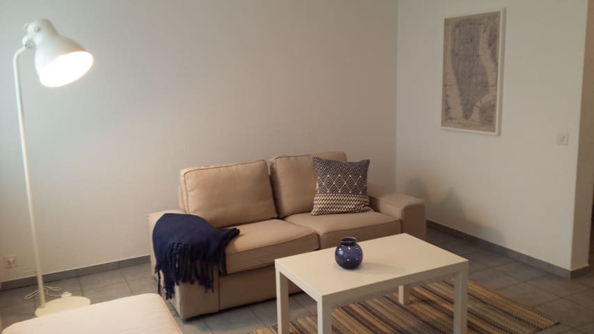 furnished 2 room apartment near to the river Rhein - Bâle