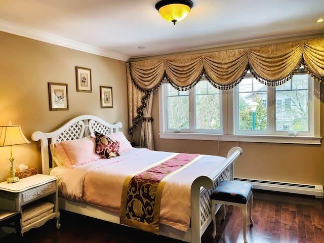 Luxy Room Own bath Elite Area Nr DWTN近市中心豪宅自带卫浴美套房