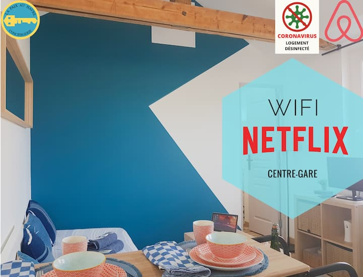 LPAH★Time For A Stopover★Downtown★NETFLIX★WIFI