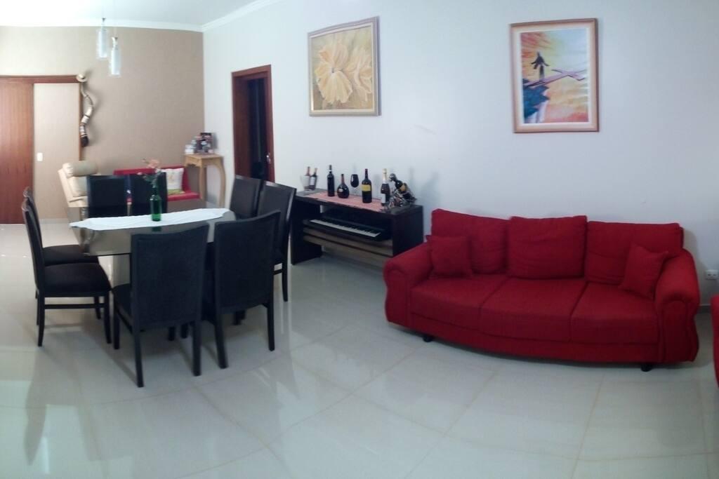 Sala de estar e de Jantar