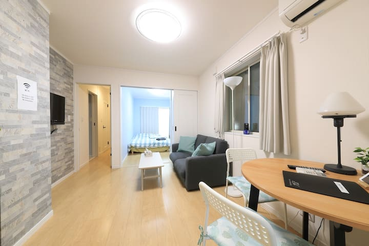 Located quiet residential area in Shinjuku City!