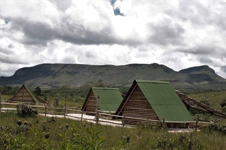 Bangalô Charm Camping - Céu de Agartha