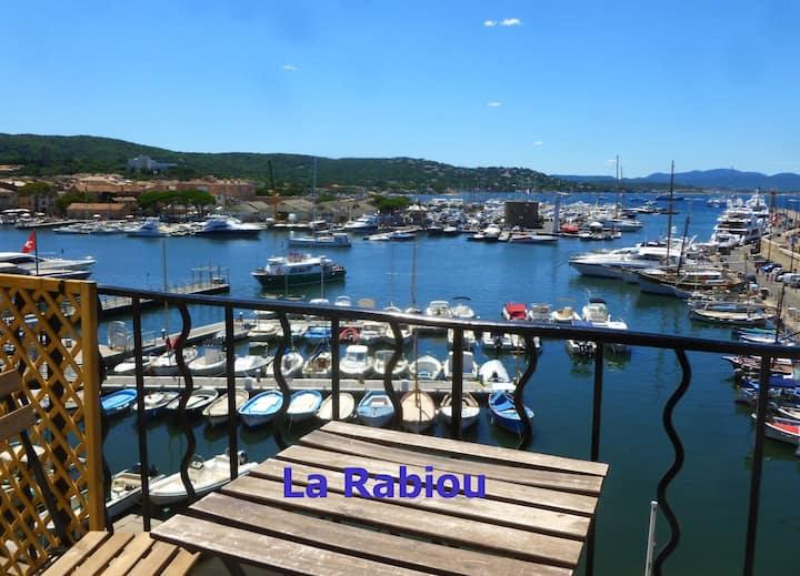 LA RABIOU, vieux port de Saint Tropez