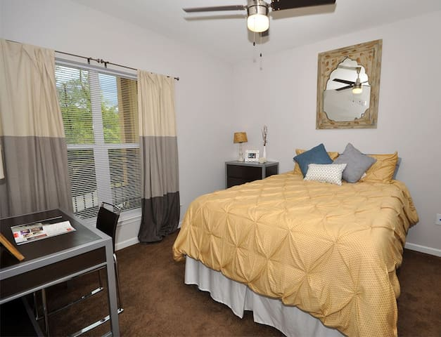 spacious bedroom with private bath - Charlottesville - Apartment