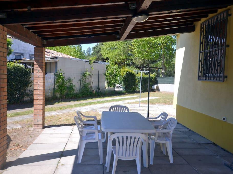Dettaglio patio