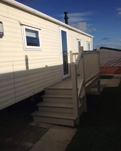 Beautiful caravan with sea view - Conwy