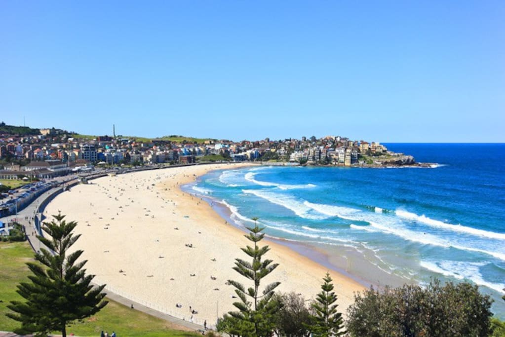 Iconic Bondi Beach