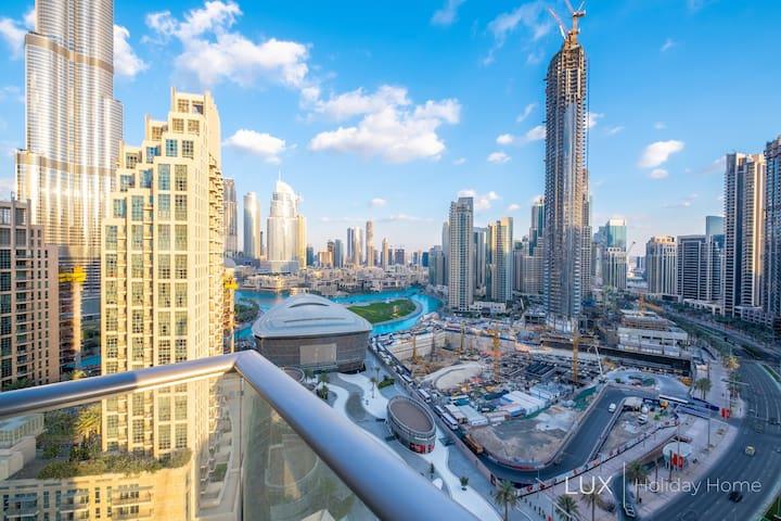 LUX | Sweeping Skyline View Across The Dubai Opera