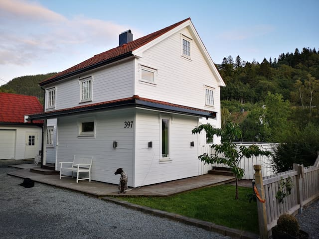 Cozy house w/parking near Trondheim