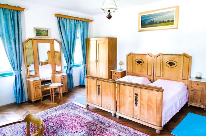 Spacious Art Nouveau-style room