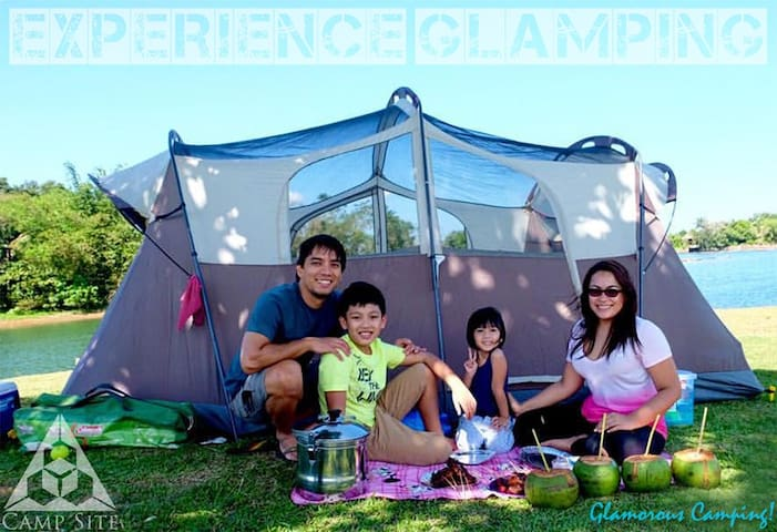 GLAMPING: Experience & Enjoy by the Mountain Lake!