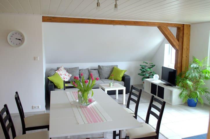 Gemütliche Whg in Meckl Kleinseenpl - Schwarz - Lägenhet
