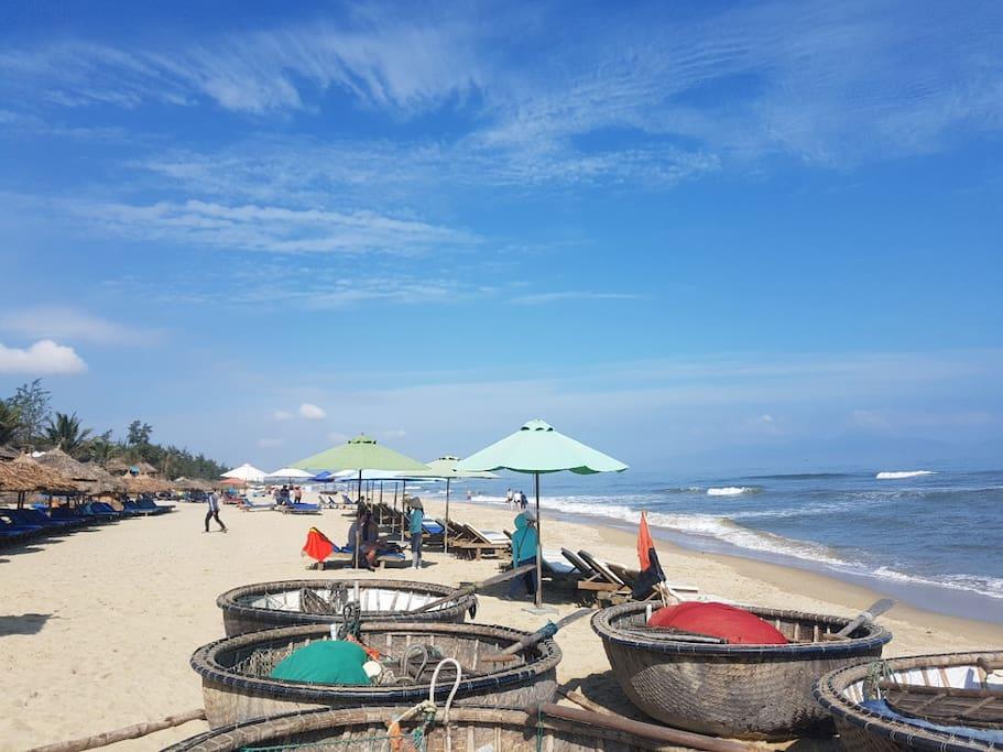 An Bang Beach at front