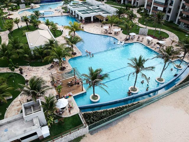 Luxury Apartment Condominium - Beachfront -Cumbuco