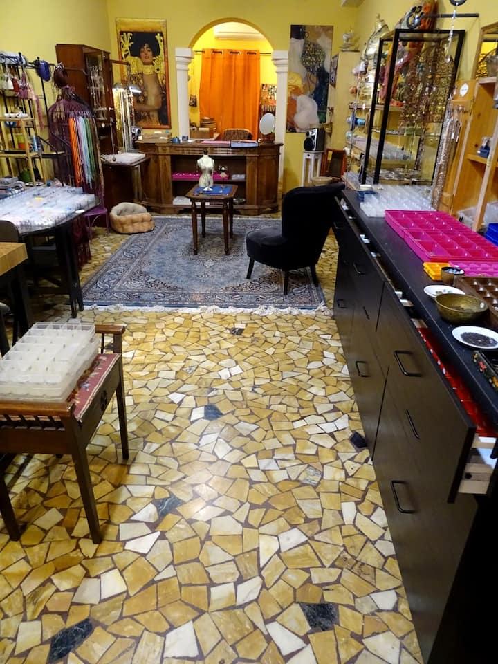 Our shop/studio