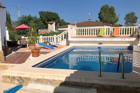 4 bedroom Villa with  pool  in private grounds.
