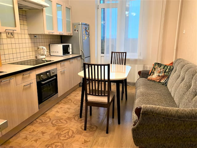 Apartment near Primorskaya